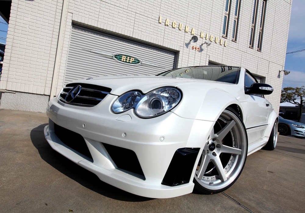 RK Design Mercedes Benz W209 CLK